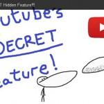 YouTubeに隠しコマンド「K」ボタンがあった!