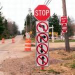面白い道路標識