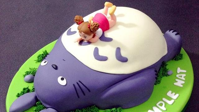 クオリティー高すぎ!|食べてしまうのが勿体ないトトロケーキ