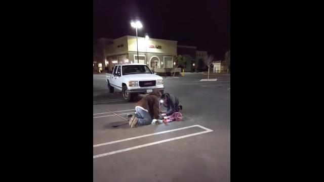 米カリフォルニア州フォンタナで繰り広げられた35時間に及ぶ子猫の救出劇