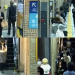 駅構内で歩きスマホをする人に、アナウンスで注意を呼びかけた結果、こうなった