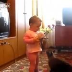 猫ちゃんあっぱれ!|人間の赤ちゃんから我が子を救出する母猫の愛は強し!