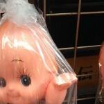 浅草で売られていたシュールすぎるキューピー人形(笑)