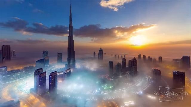 世界で最も美しい都市、ドバイの4Kタイムラプス映像がスゴイ!