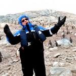 南極のペンギンたちの前でオペラを歌って聴かせたらこうなった(笑)