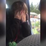 息子を学校へ迎えに行った帰り、突然車内で号泣する息子。果たしてその理由は?
