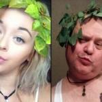 娘が投稿する自撮り写真がセクシー過ぎてけしからんと、娘の真似をして嫌がらせをするパパ 14枚