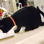 黒猫をモチーフにしたペーパー加湿器を購入して使ってみた結果、こうなった(笑)
