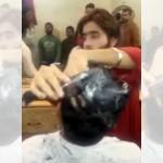 わ、頭髪が燃えてる!?|インドの床屋さんのヘアカットの方法が怖すぎ!