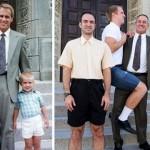 同じポーズで撮影された人々の過去と現在の比較写真がおもしろい! 30枚