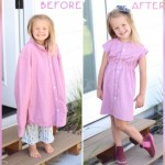 パパの古着が娘のドレスに大変身・・・リメイク上手なママの作品集 8選