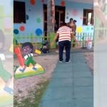 保育園に子供を迎えに来たパパ → なんだか悲しいね(笑)