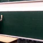 大学で講義中、思わぬアクシデントに見舞われた講師