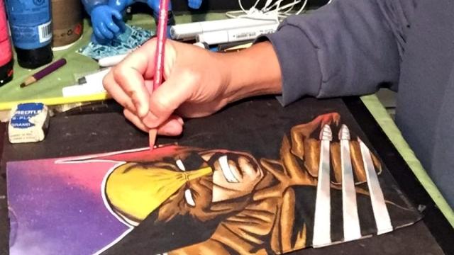 友達が出来るきっかけになればと、息子のお弁当袋にイラストを描き続ける父親 20枚