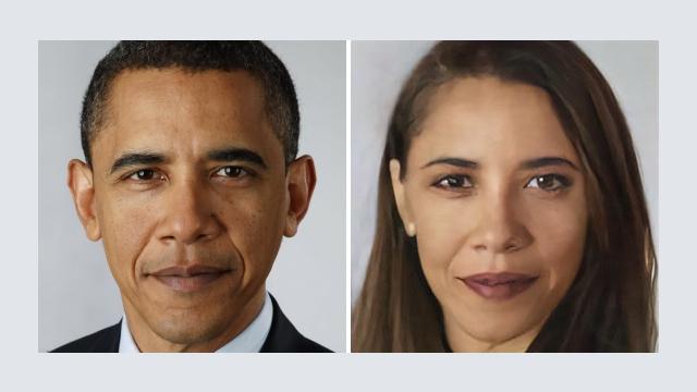 アプリ「Face-Swap」で加工した各国首脳のポートレートがおもしろい! 18枚