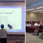 講義中、蛾を追い払おうとしてプロジェクターを壊してしまった数学教授