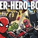 バトルロイヤルを余儀なくされたヒーローたちのパロディ・アニメがおもしろい!