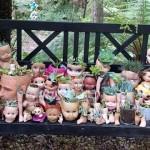 古い人形をプランターとして再利用すると、恐ろしい事になるという写真 20枚