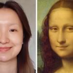 化粧でモナリザそっくりに変身する中国人女性のメイクアップ・アートがスゴイ!