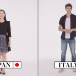70カ国の言語で「こんにちは」「さよなら」を紹介した映像がおもしろい!