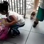 幼稚園に通う女の子・・・とんでもないものをリュックに入れて持っていこうとする発想がおもしろ可愛い