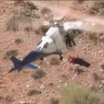 怪我をした74歳の女性ハイカーを救助していたヘリコプターにまさかの事態が発生!