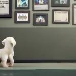 立派な盲導犬になることを夢見ている子犬を描いたショート・アニメーション