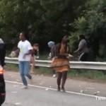 高速道路で起きたドラマみたいなハプニング (アメリカ)