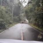 タイの道路では日本では考えられないことが起こるようです