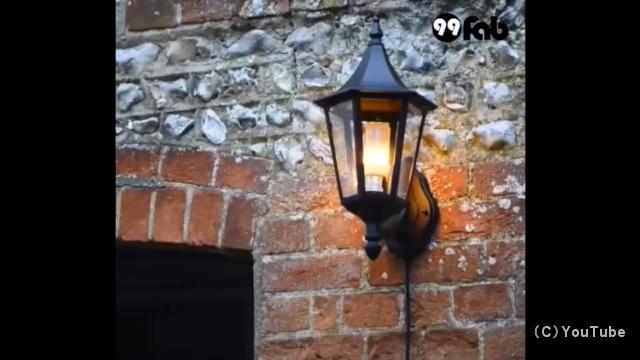 本物の炎が燃えているような雰囲気が味わえるLED炎効果電球がおもしろい